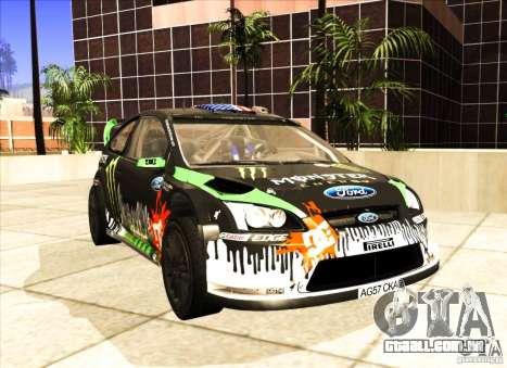 Ford Focus RS 2000 para GTA San Andreas