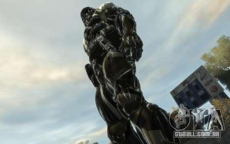Crysis 3 The Hunter skin para GTA 4 terceira tela