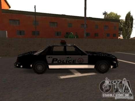 Police VC para GTA San Andreas esquerda vista