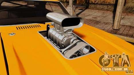 Dodge Charger RT 1970 para GTA 4 vista direita