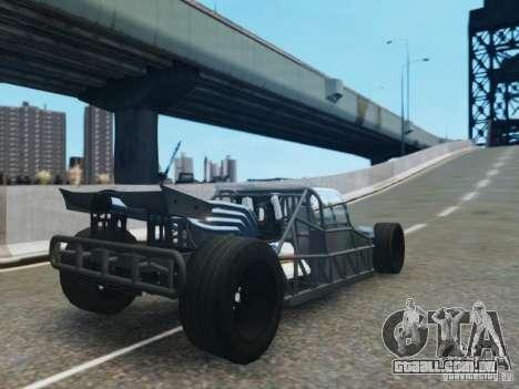 Villain The Fast and the Furious 6 para GTA 4 traseira esquerda vista