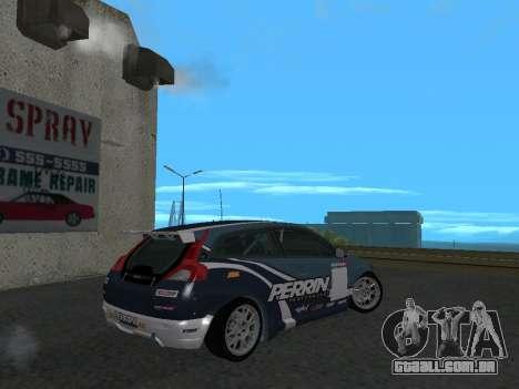 Volvo C30 Race para GTA San Andreas esquerda vista