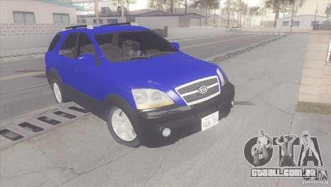 Kia Sorento para GTA San Andreas esquerda vista