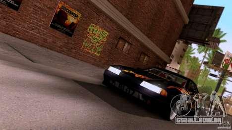 SA Beautiful Realistic Graphics 1.3 para GTA San Andreas por diante tela