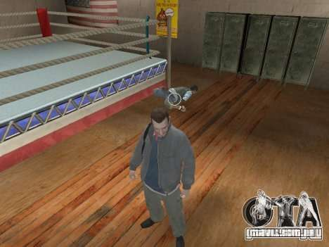 O sistema de luta de GTA IV V 2.0 para GTA San Andreas segunda tela