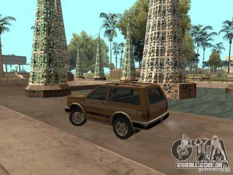 Nova Landstalker para GTA San Andreas traseira esquerda vista