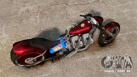 Dragbike Street Racer para GTA 4 vista direita