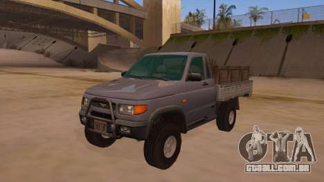 UAZ-2360 para vista lateral GTA San Andreas