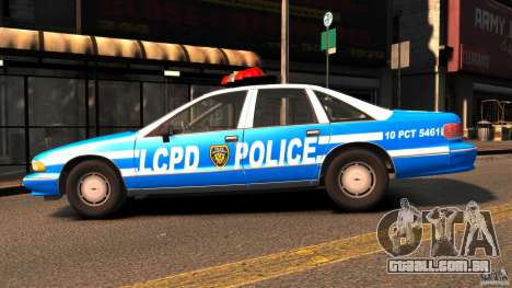 Chevrolet Caprice 1993 LCPD para GTA 4