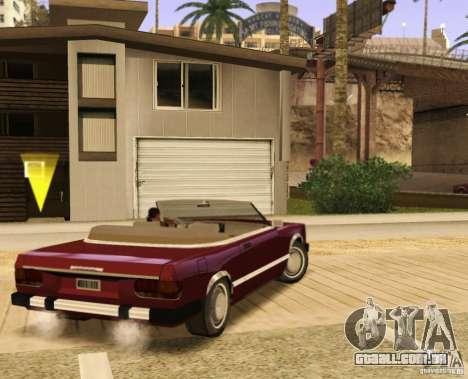 Feltzer HD v2 para GTA San Andreas esquerda vista