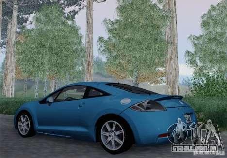 Mitsubishi Eclipse GT V6 para GTA San Andreas vista traseira
