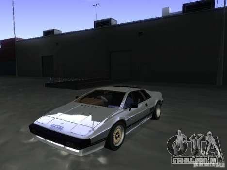Lotus Esprit Turbo para GTA San Andreas