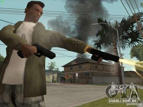 Arma G18 para GTA San Andreas