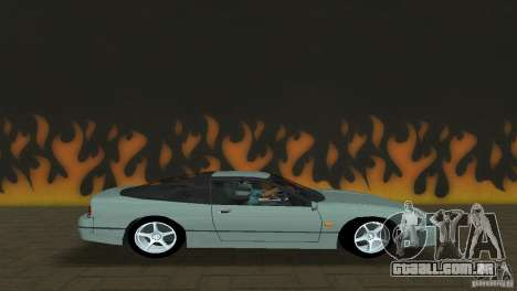 Nissan 200SX para GTA Vice City deixou vista