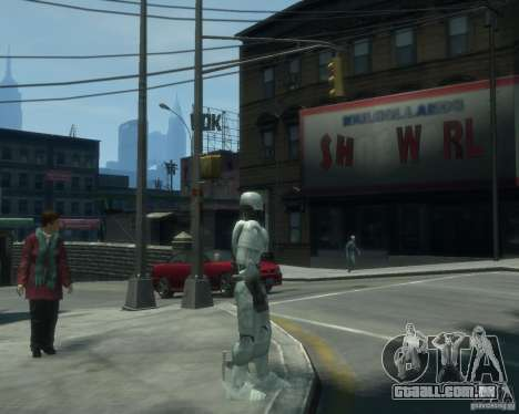 Pele Robokopa para GTA 4 segundo screenshot