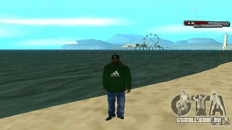 Sweet para GTA San Andreas quinto tela
