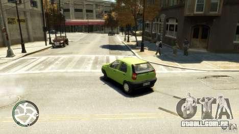 Fiat Palio para GTA 4 esquerda vista