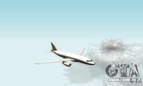 Airbus A319 British Airways Olympic Dove para GTA San Andreas