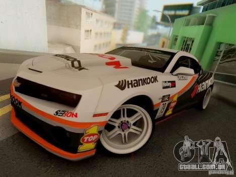 Chevrolet Camaro Hankook Tire para GTA San Andreas