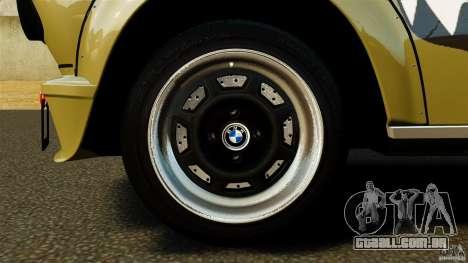 BMW 2002 Turbo 1973 para GTA 4 vista de volta