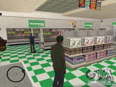 Novos restaurantes de texturas para GTA San Andreas terceira tela