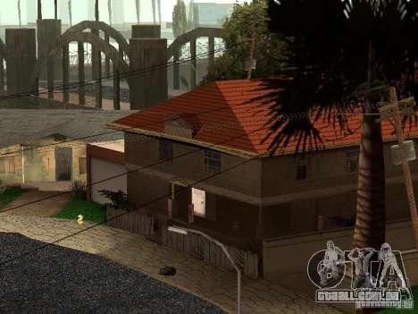 A nova Grove Street para GTA San Andreas terceira tela