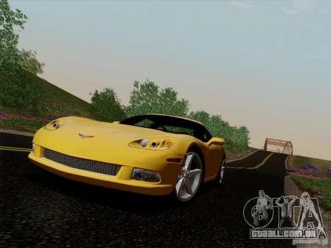 Chevrolet Corvette Z51 para GTA San Andreas
