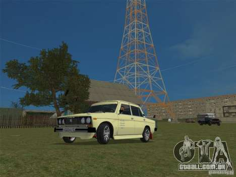 VAZ 2106 Sparco Tuning para GTA Vice City vista direita