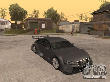 Audi A4 Touring para GTA San Andreas vista interior