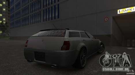 PMP600 Sport Wagon para GTA 4 vista de volta
