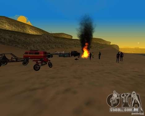 Praia večirinka para GTA San Andreas