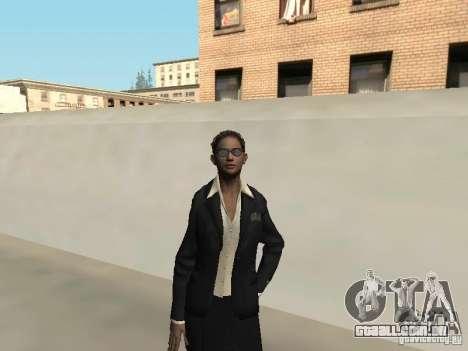 FBI feminino pele para GTA San Andreas