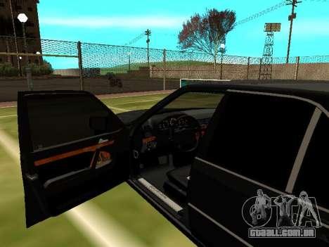 Mercedes-Benz S400 SE W140 para GTA San Andreas vista interior