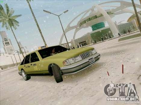 HD táxi SA de GTA 3 para GTA San Andreas esquerda vista