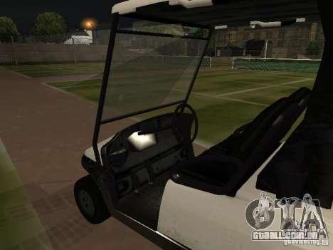 Transportador de GTA TBoGT para GTA San Andreas vista direita