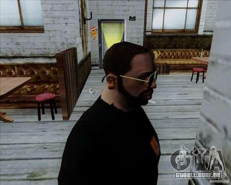 Óculos de aviador para GTA San Andreas segunda tela