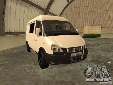 GAZ 2752 Sobol negócios para GTA San Andreas