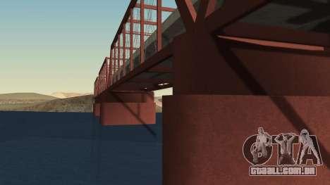 A nova ponte de LS-LV para GTA San Andreas segunda tela