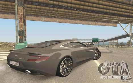 Nova reflexão sobre carro para GTA San Andreas por diante tela