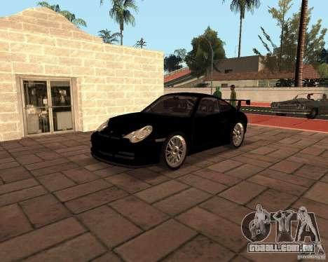 Porsche 911 GT3 RS para GTA San Andreas interior