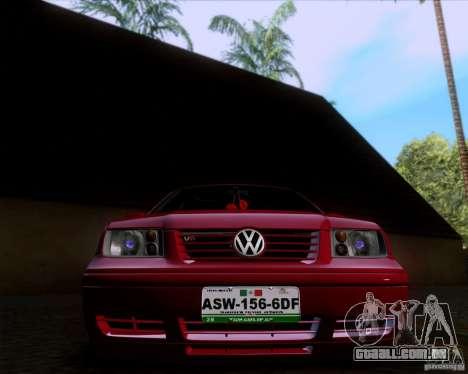 Volkswagen Jetta 2005 para GTA San Andreas vista traseira