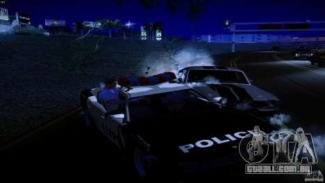 Polícia atira fora da máquina para GTA San Andreas terceira tela
