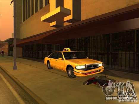 Sangue de carro v2 para GTA San Andreas