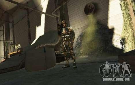 Crysis 3 The Hunter skin para GTA 4 quinto tela