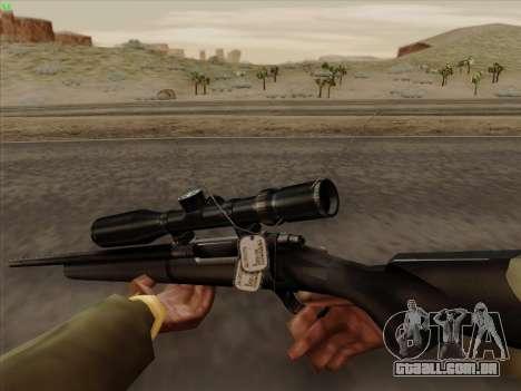 Remington 700 para GTA San Andreas terceira tela