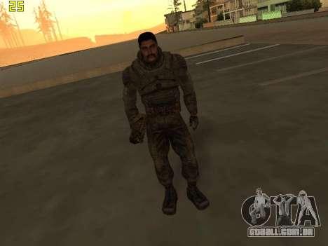Um maço grande de stalkers grátis para GTA San Andreas sexta tela
