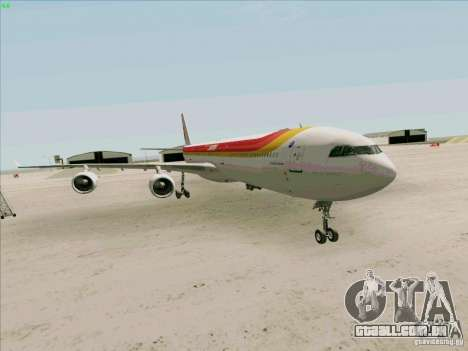 Airbus A-340-600 Iberia para GTA San Andreas