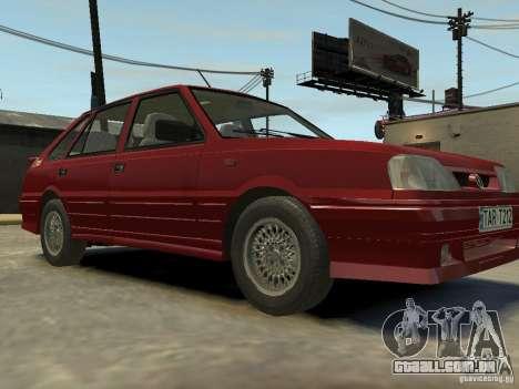 FSO Polonez Caro para GTA 4 vista de volta