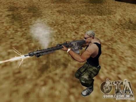 A metralhadora MG-42 para GTA San Andreas terceira tela