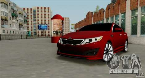 KIA Optima para GTA San Andreas